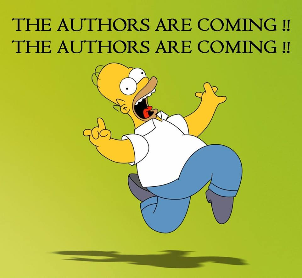 Homer Simpson Authors Coming!