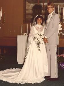 Jama&John wedding 8-30-80