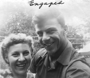 Engaged summer 1953
