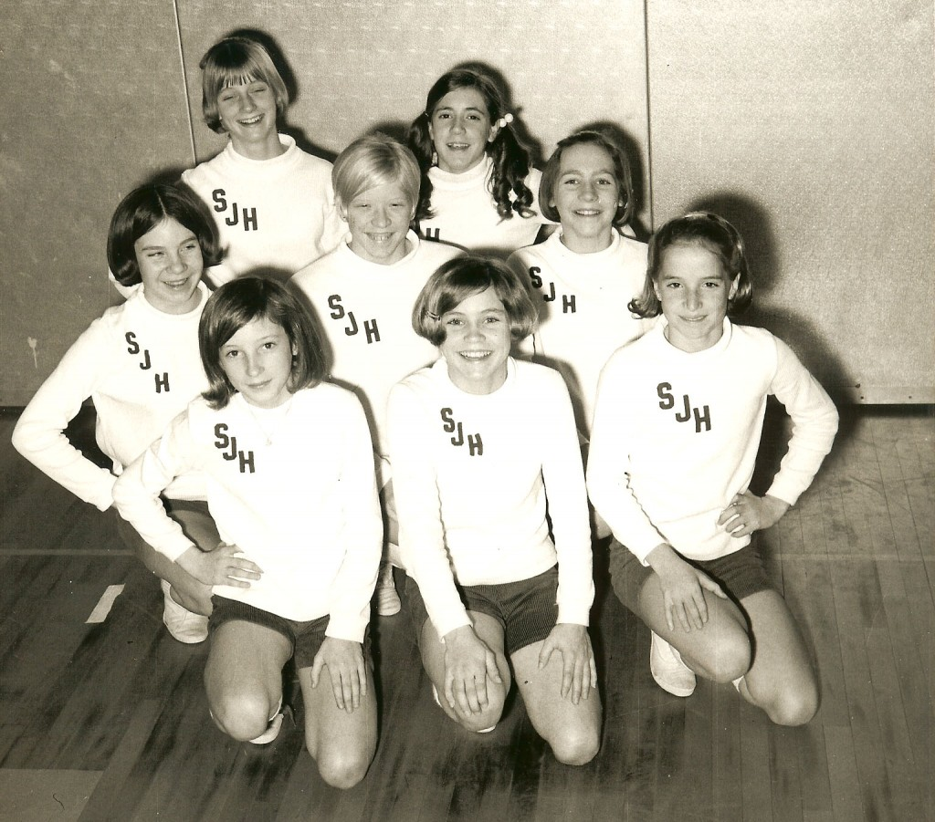 Cheerleaders Storer 1968