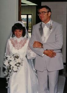 Jama & Dad wedding day